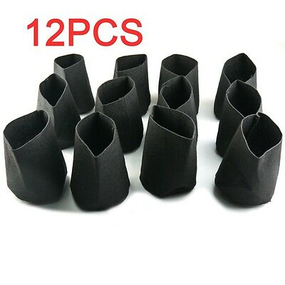 4in. Round Fabric Pots Plant Root Container Grow Bag planter Pouch 12Pcs Kit