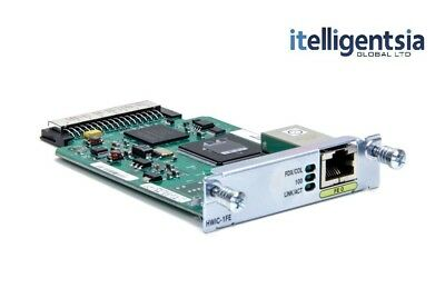 Cisco HWIC-1FE Fast Ethernet Module - £50 ex VAT - 1 Year Warranty