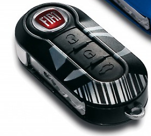 New Genuine Fiat 500 Key Remote Cover Various Colours