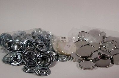 50 Buttonrohlinge 59 mm mit Flaschenöffner EU Badgematic Typ 900 *ORIGINALWARE*
