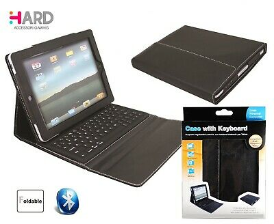 Custodia XTREME  APPLE I PAD 2 - 3 - 4  e  altri TABLET con tastiera BLUETOOTH