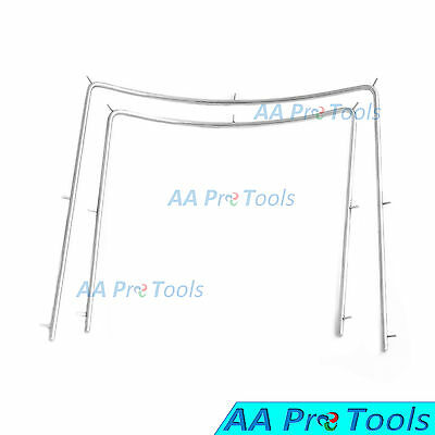 AA Pro: Rubber Dam Frame Dental Surgical Instruments set of two Dentist Mouth