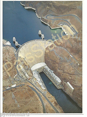 Post Card - Aerial View of Hoover Dam by Michael Collier
