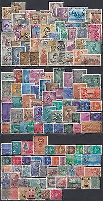 Indien India fine used collection of 147 different stamps, nice lot [sq7686]