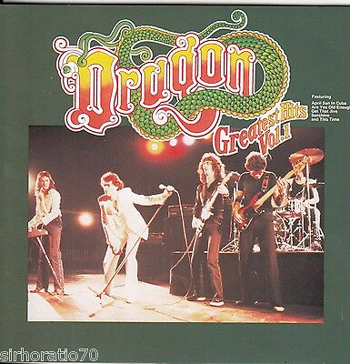 DRAGON Greatest Hits / Vol. 1 CD