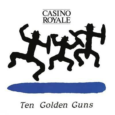CASINO ROYAL TEN GOLDEN GUNS LP (blue wax)
