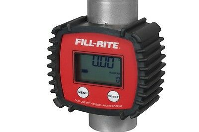 """Fill-Rite 1"""" Inlet and Outlet Digital Fuel Meter (FR1118A10)"""