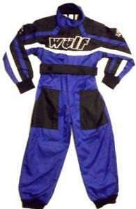 Red Camo T Karting Childrens Wulf  MX  Racing Overalls Kids Wulfsport Quad