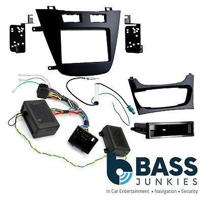 Vauxhall Insignia 2009-2013 Car Stereo Fascia & Steering Wheel Interface CTKVX40
