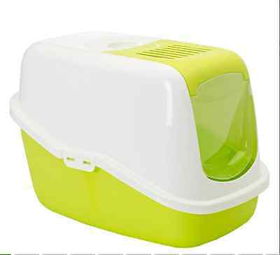Cat Litter Box Covered Hooded Self Kitty Poop Pet Toilet Carbon Filter Litterbox