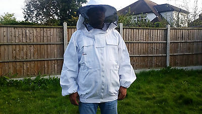 Beekeeping Jacket-Bee Protection-Beekeeping Round veil and front zip ALL SIZES