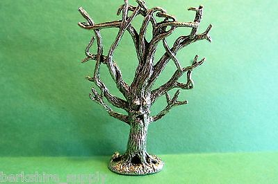 Haunted Tree Pewter Figurine