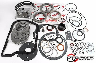 Dodge Ram 48RE Transmission Master Rebuild Kit Raybestos GPZ Clutches Pro Band