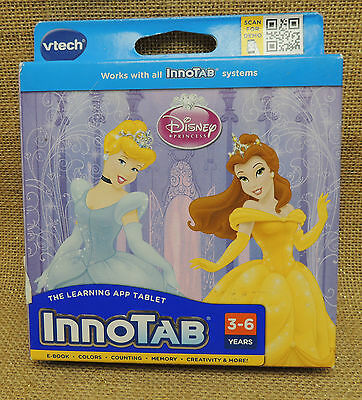 Vtech InnoTab Disney Princess Reading Learning Games Creativity Read Along