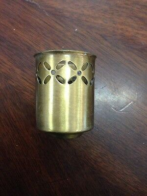 Ant Brass Plated Steel Fixture  Vintage Style Cup /Usa