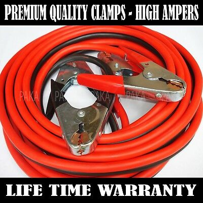 25 FT 4 Gauge battery Booster Cable Jumping Cables Power Jumper Heavy duty