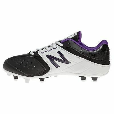 $100 New Balance Brine Womens Girls Lacrosse Cleats Black Purple WF5464BW SIZE 6
