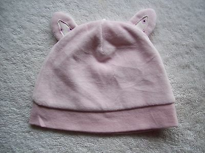 BNWNT Baby Girl's Pink Velour Hat Size 0