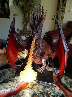 Colossal Red Dragon. with Fire, no card. Dungeons & Dragons Pathfinder D&D