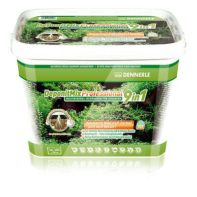 Dennerle DeponitMix Professional 9in1 - Aquarium Plant Nutrient Soil 9.6kg