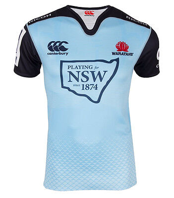 9a6c840e4a8 NSW WARATAHS HOME Jersey Size Small New South Wales CCC Super Rugby ...