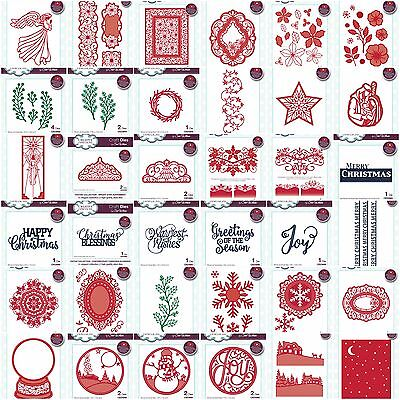 NEW CREATIVE EXPRESSIONS - Sue Wilson Festive Christmas Dies 2016 - Free UK p&p
