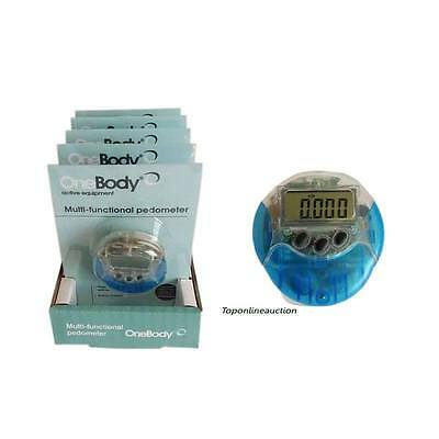 One Body Multi-functional PEDOMETER  New in Packet with Manual And Battery Tesco