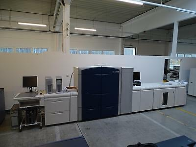 Xerox Color Press C1000 Mit Efi Fiery Server Extra Papierlade, Hcs + Lp Booklet