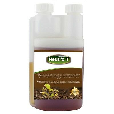 Neutro T - Aquarium Plant Fertiliser for Planted Tanks Low Tech 500ml Small