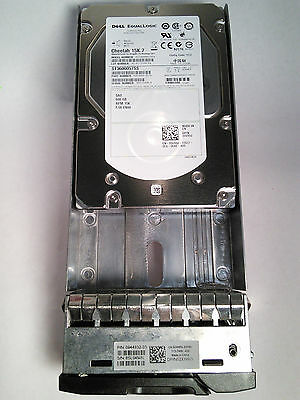 "0VX8J Dell Equallogic 600GB 15K 3.5"" SAS HD PS6010XV PS6000XV w/tray ST3600057SS"