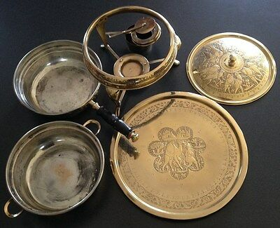 Solid Brass Turkish TraditionalChafing Service-6-pieces