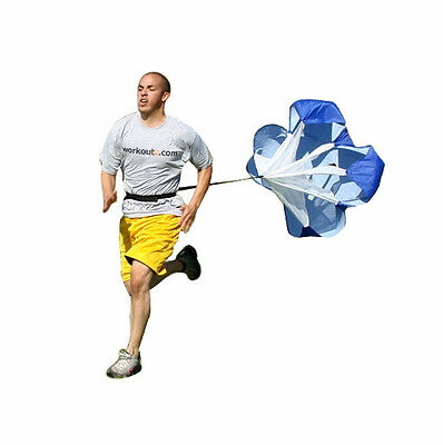 """Workoutz 40"""" Inch Speed Chute (Small) Parachute Running Sprinting Resistance"""