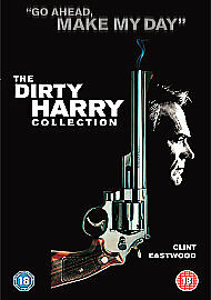 Dirty Harry Complete DVD Box Set Collection 5 Movie Film New Clint Eastwood UK x