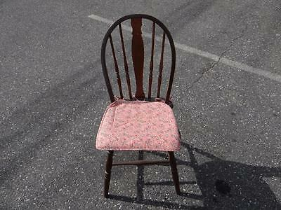 Beautiful Vintage Wooden Chair 33x15x14.5 LOOK! SA1871