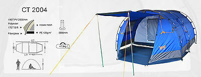 Brand New 4-5 men Owls-CT 2004 Family Camping Tent - Camping Hiking