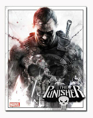 Marvel Comics A3 Tin Metal Sign THE PUNISHER Frank Castle 41x32cm Hero Licensed