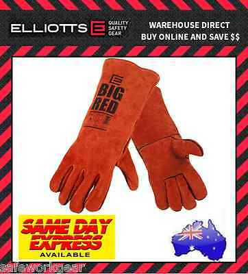 (Pack of 2) Elliot BIG RED Welding Gloves