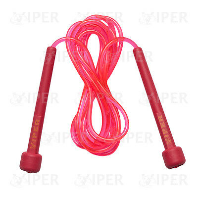 Boxing Jumping Skipping Speed Fitness /SKIPPING ROPE / Plastic / Nylon Rope PINK