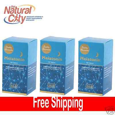 Johnson & Barana Melatonin 5x 3mg 100 Tabs x 3- Best Price Deal
