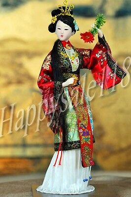 "Ancient Chinese Artware Decoration Doll A Dream of Red Mansion ""Shi Xiangyun"""