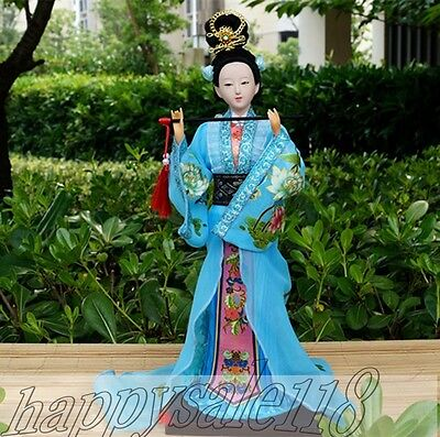 """Ancient Chinese Traditional Humandroid Four Beauties """"Diaochan"""" Doll Collectible"""