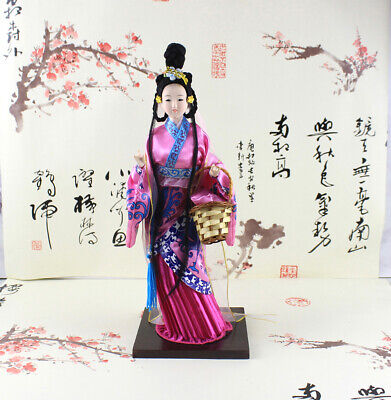 "Ancient Chinese Traditional Four Beauties ""XiShi""  Doll Statue 12'' 33cm Tall"