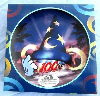 WDW 100 Years of Magic Mickey's Sorcerer Hat Plate - New in Box