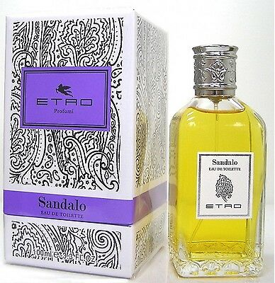 Etro Sandalo Eau de Toilette EDT 100ml  Unisex Mixte Neuf / Authentique