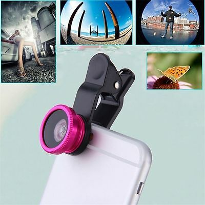 3 in1 Camera Lenses for iPhone & Android.  Fish Eye, Wide Angle, Macro.  USA.