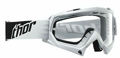 Thor Enemy Youth/Kids Goggles White/Black MX Motocross Off-Road Enduro Quad