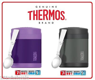 ❤ Thermos STAINLESS STEEL Vacuum Insulated Food Jar 470ml Funtainer 2 Designs ❤