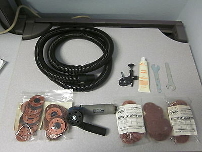 """DOTCO 2"""" Pneumatic Grinder With DCM Clean Air Products Vacuum KIT"""