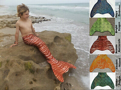 Monofin Boys Fish Tail. Fun Swimmable Shark Fin Tails. Merman Tail. Mermaid Tail