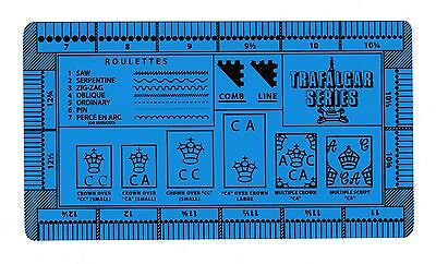 Trafalgar Gauge Stamp Perforation Perf Gauge - Double Sided